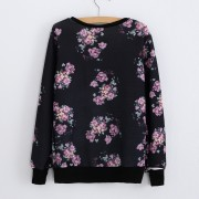 New-Fashion-Casual-Women-s-Tracksuit-Flowers-Printed-Pattern-Hoodies-Casual-Sweatshirts-Kawaii-Clothes-O-neck-2