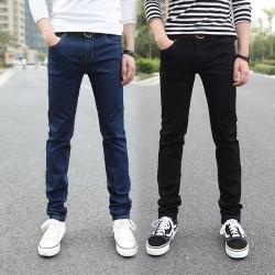 New-Fashion-Pencil-Pants-Men-s-Jeans-Slim-Fit-Straight-Trousers-Straight-Leg-Size-28-36-1