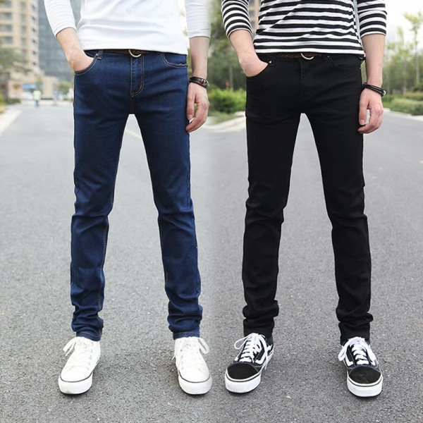 New-Fashion-Pencil-Pants-Men-s-Jeans-Slim-Fit-Straight-Trousers-Straight-Leg-Size-28-36-1