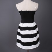 New-Summer-Fashion-Sexy-Strapless-Vestidos-Striped-Pleated-Bubble-Mini-Party-Dress-Off-Shoulder-Women-s-2