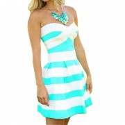 New-Summer-Fashion-Sexy-Strapless-Vestidos-Striped-Pleated-Bubble-Mini-Party-Dress-Off-Shoulder-Women-s-3
