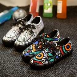 New-women-s-casual-canvas-shoes-flats-low-striped-suit-European-and-American-fashion-Korean-heavy-1