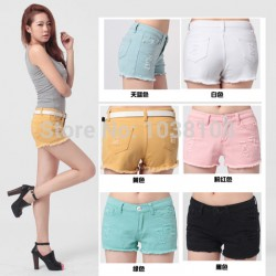 Nice-quality-summer-all-match-100-cotton-fashion-denim-shorts-jeans-shorts-women-size-25-to-1