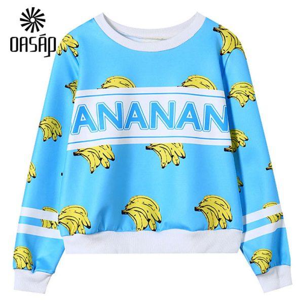 OASAP-2015-Fashion-Women-Cute-Banana-Print-Sweatshirt-cute-Long-Sleeve-O-Neck-Tee-Sweatshirt-Spring-1