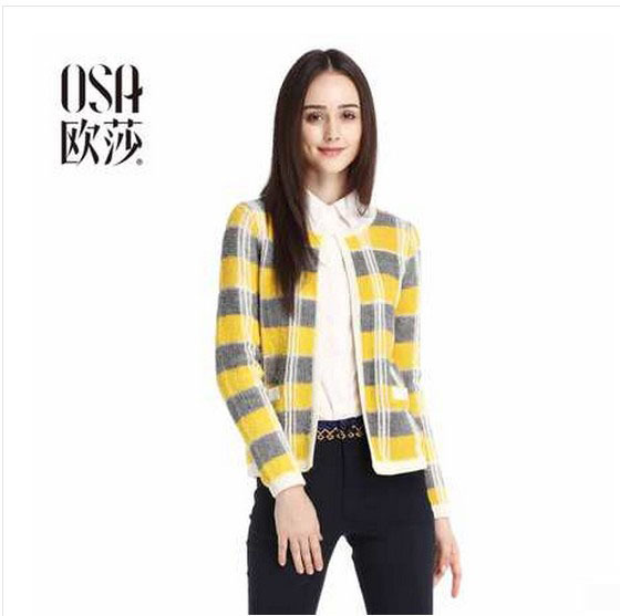 OSA-2015-Autumn-woolen-multi-Striped-cardigan-Winter-women-damen-sweaters-Vintage-Patchwork-Casual-Full-Sleeve-1