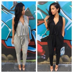 Polyester-Sashes-Regular-Casual-Fashion-Deep-V-Neck-Sexy-Summer-2015-Rompers-Womens-Jumpsuit-for-Women-1