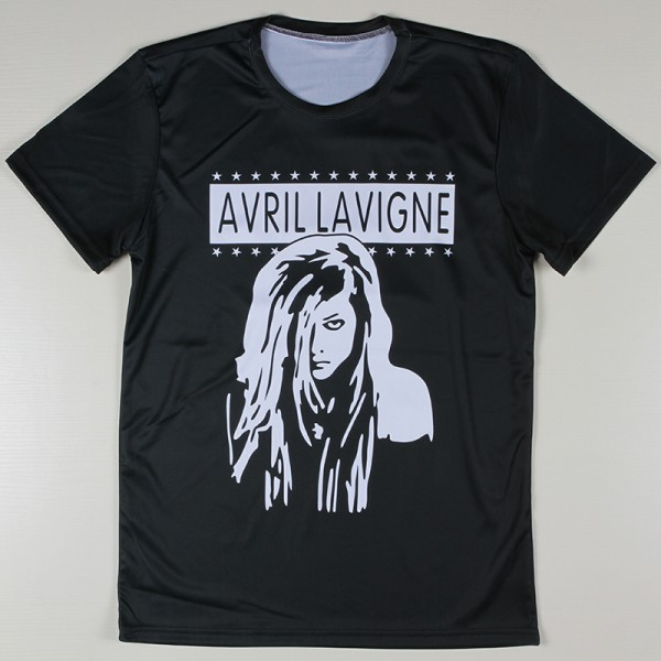 Popular-Music-Star-Avril-Lavigne-Printed-T-shirts-Men-Summer-New-Casual-Short-Tees-High-Quality-1