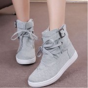 Promotion-Women-Buckle-Strap-Flats-Shoes-Ladies-Female-Casual-Lace-Up-High-Top-Canvas-Breathable-Walking-3