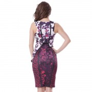 R70110-Wholesale-and-retail-popular-floral-dress-brand-new-sleeveless-bodycon-dress-high-quality-trendy-fashion-4