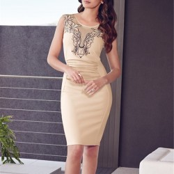 R80082-70153-Top-selling-beige-sleeveless-embroidery-dress-on-sale-super-deal-bodycon-work-dress-elegant-1