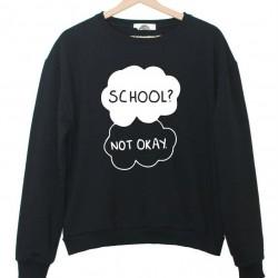 SCHOOL-NOT-OKAY-Letters-Print-Women-Sweatshirt-Jumper-Casual-Hoodies-For-Lady-Funny-Black-White-Street-1