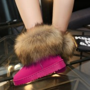 Size-35-40-Russia-Winter-Warm-Thickened-Fur-Women-Flat-Half-Short-Ankle-Snow-Boots-Plush-6
