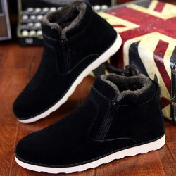 Size-37-45-Autumn-winter-men-warm-snow-boots-Casual-with-short-plush-ankle-boots-Height-1