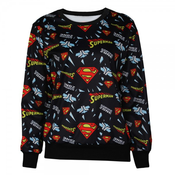 Stroke-Zone-Superman-Black-Emoji-Expression-Printed-Sweatshirt-Hoodie-Jumper-Top-1-1