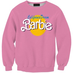 Tracksuits-2015-Fall-Men-Women-Pullover-Pink-Hoodies-3D-Letter-BARBIE-Graphic-Print-Crewneck-Sweatshirt-Long-1