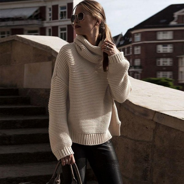 Woman-Kintwear-Fashion-Stylish-Chic-Slim-Fit-Casual-Sexy-Elegant-Turtleneck-Top-Blouse-Fashion-Sweater-1