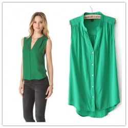 Women-Quality-Cotton-Blends-Sleeveless-Blouse-Causal-Brand-Tops-Sexy-V-Neck-Office-Lady-Summer-Desinger-1