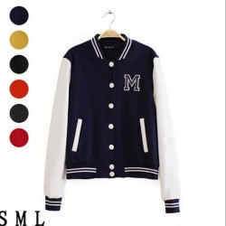 Women-Spring-Autumn-Fashion-Patchwork-Baseball-coat-letter-print-Hoodies-Sweatshirts-casual-hoodies-women-L0872-1