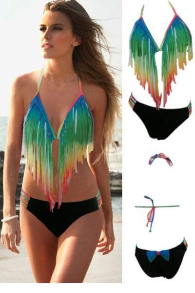 Women-Summer-Brazilian-bikinis-set-push-up-swimsuit-2015-sexy-beachwear-bathing-suit-Gradient-Rainbow-Long-1