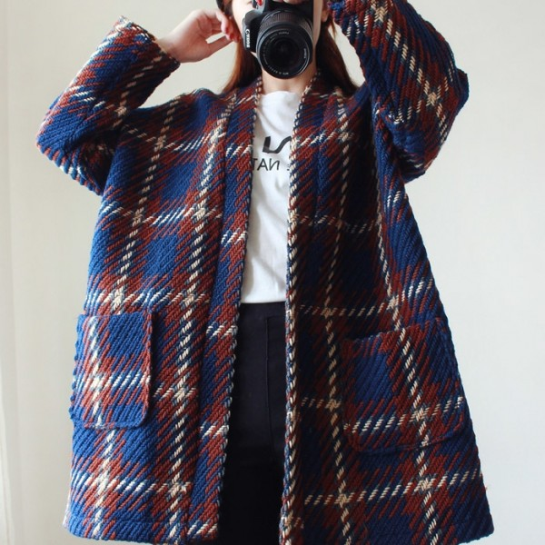 Women-Winter-Woolen-jacket-High-Quality-Women-Fashion-Coat-Loose-Cocoon-Jacket-Cloak-Outwear-Plaid-1-1