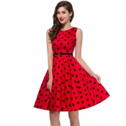 Womens-plus-size-Audrey-hepburn-Vintage-Rockabilly-Dresses-Summer-style-Retro-50s-60s-robe-Dress-Swing-4