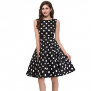 Womens-plus-size-Audrey-hepburn-Vintage-Rockabilly-Dresses-Summer-style-Retro-50s-60s-robe-Dress-Swing-6