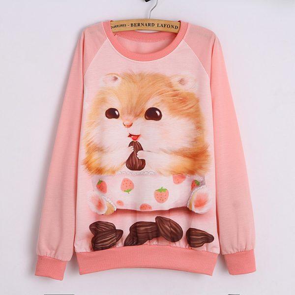 autumn-women-hoody-casual-sweatshirt-pink-thin-long-sleeve-tracksuit-pullover-woman-hoodies-cute-fox-printed-1