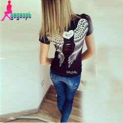 gagaopt-2015-All-match-cheap-Angel-Wings-Printed-Women-s-print-T-shirt-O-Neck-Casual-1