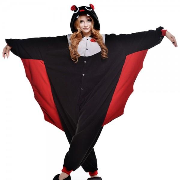 Black-batman-Costume-Chirstmas-Pajamas-Set-Animal-Cosplay-Sleepwear-Halloween-Kigurumi-Adult-Garment-Cartoon-Clothing-Unisex-1