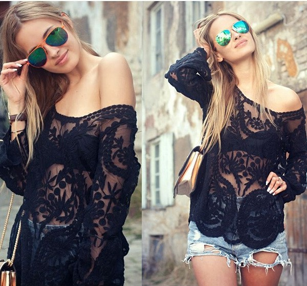Blusas-Femininas-2015-Women-Embroidery-Crochet-Lace-Long-Sleeve-Hollow-Blouses-Casual-Solid-O-Neck-Blouse-1