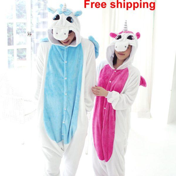 Fashion-Unisex-Adult-Sleep-Tops-Party-Cosplay-Animal-unicorn-pajamas-Sleep-Adult-Cartoon-robe-pyjama-kigurumi-1