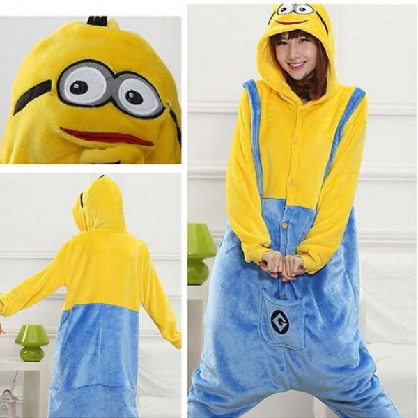 High-quality-Unisex-Flannel-Adult-Minion-Pajamas-Pyjamas-Women-Onesie-Men-Cosplay-Kigurumi-Animal-Onesies-Sleepwear-1