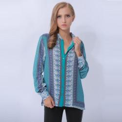 New-Design-Red-Blue-Vintage-Women-Blouse-Summer-2015-Long-Sleeve-Cardigan-Women-Clothing-Ladies-Office-1