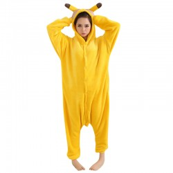 New-Design-Warm-Winter-Unisex-Adult-Onesie-Kigurumi-Pajamas-Anime-Costume-Pikachu-Sleepwear-DM-6-1