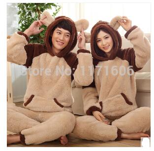 Sale-New-cartoon-Kigurumi-Pijama-Women-Thickening-Winter-Flannel-Sleepwear-Female-Coral-Lounge-Set-Split-Long-1