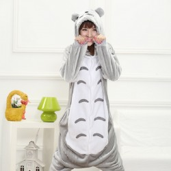 Totoro-Pyjamas-women-Onesies-for-adults-lounge-pajamas-Totoro-sleepwear-Flannel-Animal-pajamas-femme-kigurumi-mujer-1