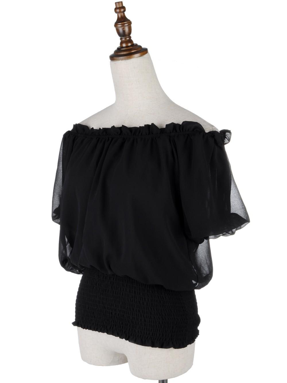 Блузка на резинке купить