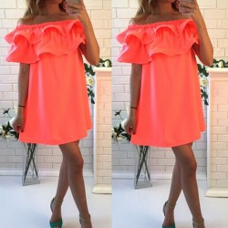 2016-new-summer-dresses-sexy-short-sleeve-beach-dress-fashion-colorful-women-dress-casual-hot-sale-1