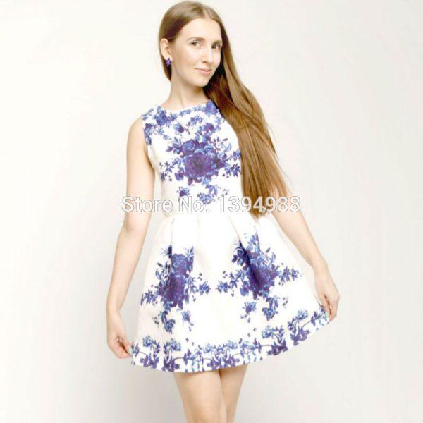 XXL-2016-Summer-Style-Women-Dress-Casual-Mini-O-Neck-Sleeveless-Short-A-Line-Dress-Party-1
