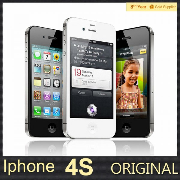 Unlocked-Apple-iPhone-4S-Original-Cell-Phone-8GB-16GB-32GB-64GB-ROM-Dual-Core-IOS-8-1