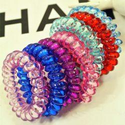 10Pc-Lot-Telephone-Line-Elasticity-Rubber-Crystal-Hair-Accessory-Women-Headwears-Elastic-Hair-Band-for-Girl-1