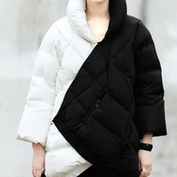 2015-Best-selling-Europe-And-The-United-States-Women-s-Black-And-White-Coak-Stitching-Down-1