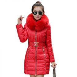 2016-New-Fashion-Fur-Collar-Warm-Coats-Woman-Long-Outerwear-Sashes-Thicken-Parkas-Down-Jacket-For-1