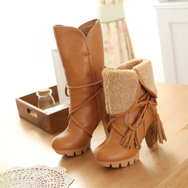 2016-New-Fashion-Women-Warm-Snow-Boots-winter-women-riding-boots-female-high-heels-thick-heel-1