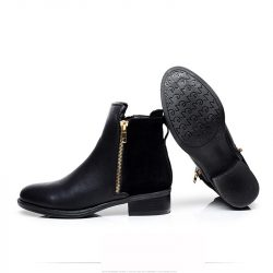 2016-New-Women-s-Fashion-Winter-Side-Zipper-Low-Heel-Ankle-Boots-Womens-Casual-Martin-Boots-1
