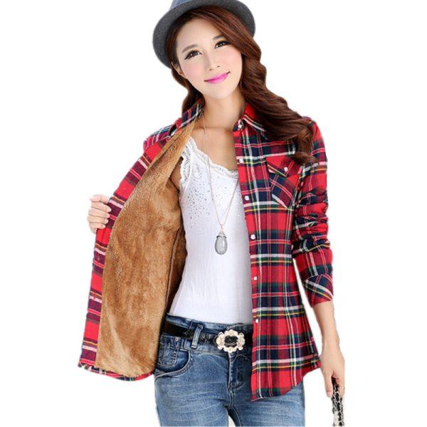 2016-new-women-s-winter-fashion-casual-warm-wool-shirts-blouse-Women-s-long-sleeve-plus-1