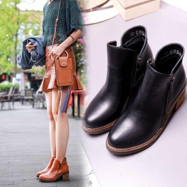 Autumn-Women-s-Boots-Ankle-Boots-For-Women-2016-European-Vintage-Style-PU-leather-Round-toe-1