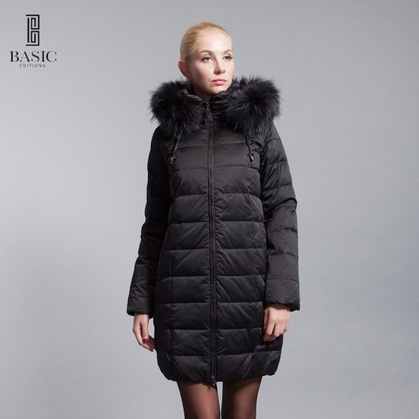 BASIC-EDITIONS-2016-new-winter-down-jacket-with-fur-hood-White-Duck-Down-Winter-Coat-Women-1