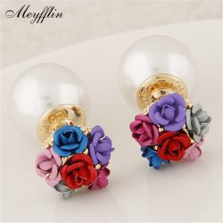 Boucle-d-oreille-2016-Fashion-Earrings-for-Women-Brincos-Jewelry-Simulated-Pearl-Flower-Stud-Earring-Bijoux-1