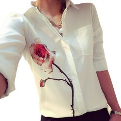 Elegant-Lady-OL-Dress-Shirts-Women-s-Long-Sleeve-Flower-Print-Blouse-Women-Fashion-Rose-Lapel-1